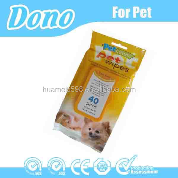 40pcs pet products wipe OEM welcomed