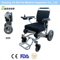 Foldable power baby beach wheelchair