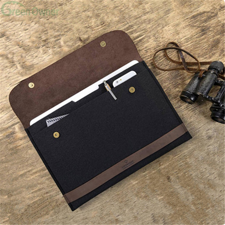 Personalized Leather Sleeve Case for Macbook Air Sleeve 13 inch Macbook Air Case Leather Laptop Sleeve Gift for Her