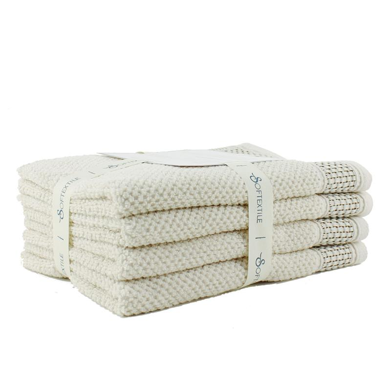 High quality muslin soft hand towel plain cotton baby towel