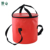 Flexible and Foldable PVC Tarpaulin  Foldable  Water Bucket With Handle Collapsible Fishing Camping Tools