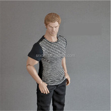 Custom make lively plastic miniature human figure 1/6 scale 30CM vinyl toy manufacturers