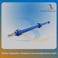 Double acting feed hydraulic cylinder for Injection molding machine