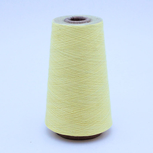 Wholesale high elasticity 100% combed organic cotton yarn
