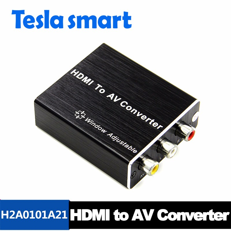 2017 Hot New Products HDMI To AV Converter HDMI signal to CVBS video and L/R audio Support 1080P