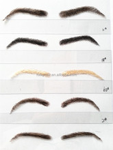 false eyebrows