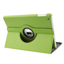 for iPad Mini Cover ,Dealgadgets 360 Degrees Slim Rotating Stand Leather Case Cover for Apple Ipad Mini 1/2 /3 /4