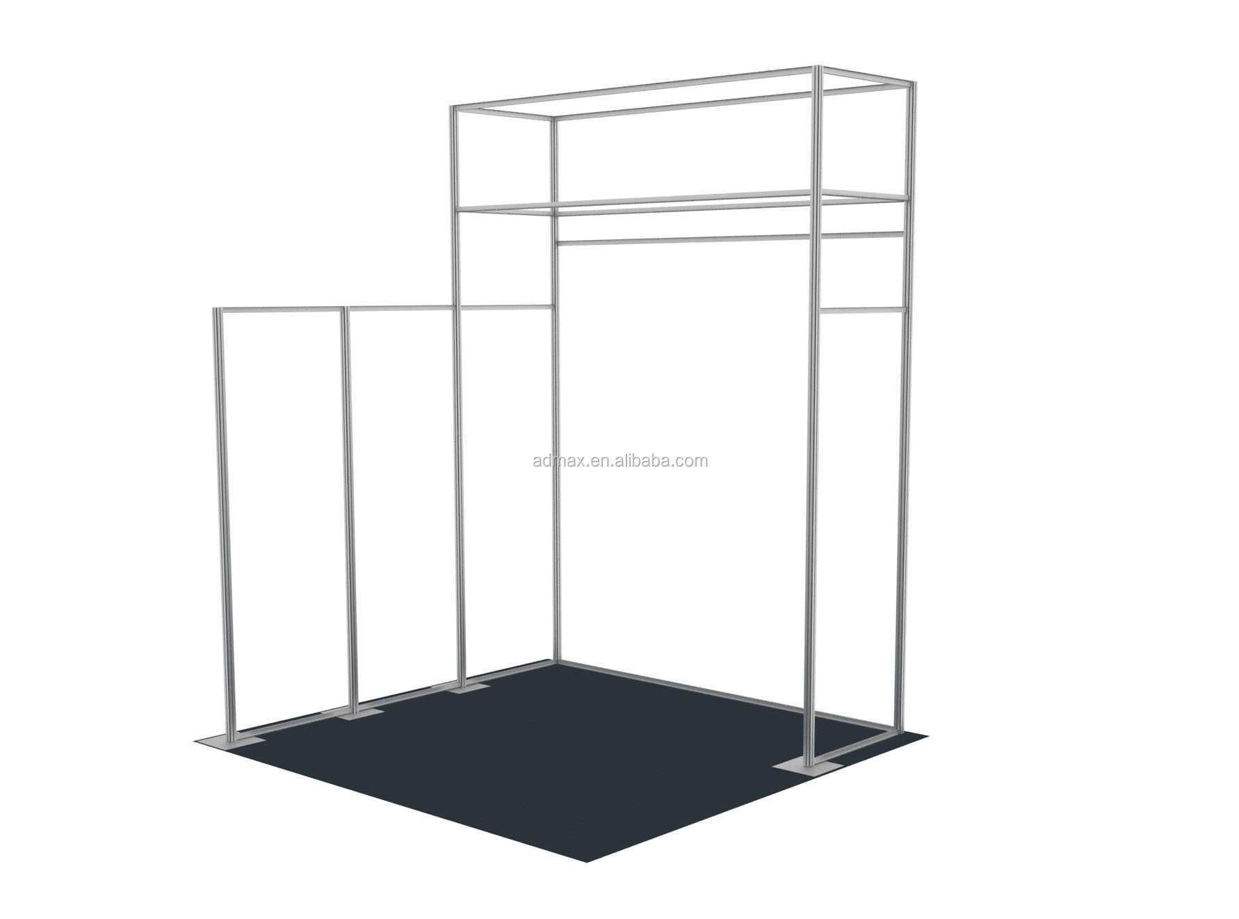 Modular booth Trade show booth customize size, item-33007 also provide printing service, easy chang picture