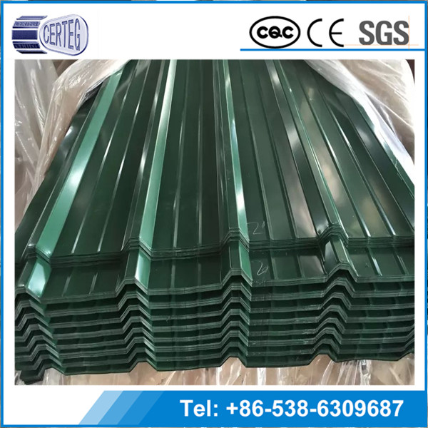 Low Price building material print colors roofing sheet steel