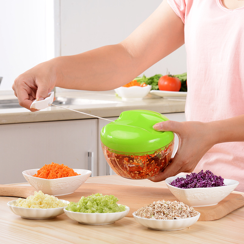 New Style Multi-purpose kitchen hand vegetable chopper, onion slicer, garlic dicer