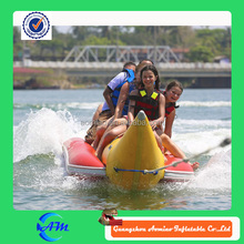 inflatable banana boat for sale /inflatable double tube banana boat / inflatable water banana