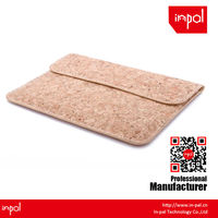 envelope clutch cork leather cover blank case for ipad mini