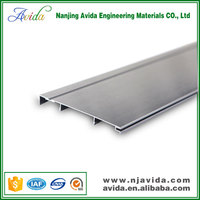 clear anodized aluminum skirting board