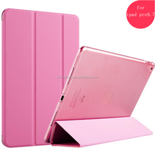 Good quality folding Folding Leather Stand Tablet Cases For 2017 new iPad, Fashionable Smart Cover For iPad Pro 9.7 Case