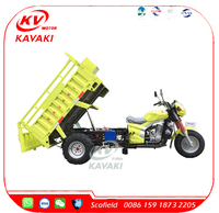250cc Heavy Loading Three Wheel Motorcycle with Cabin/Water Cooling Engine Tricycle Made in China