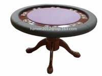 HXPT-34 Round poker table dimensions
