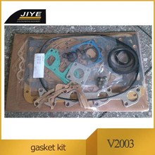 kubota V2003 full gasket set, top gasket kit and lower gasket kit