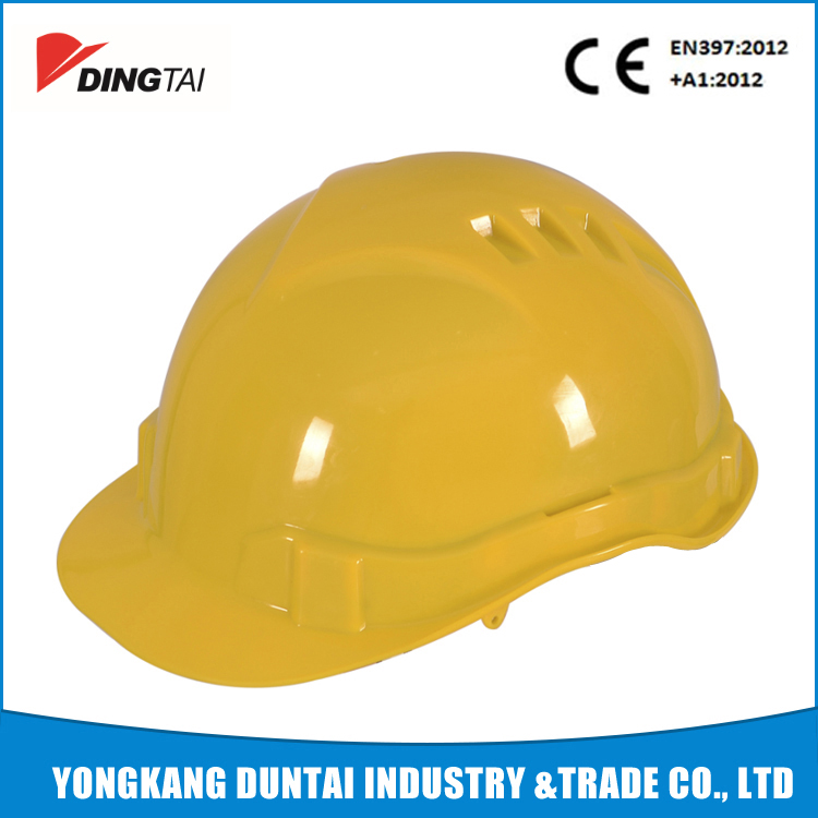 CE EN 397 ABS Comfortable worker safety helmet function of safety helmet