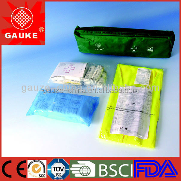 First aid kit contents list,car first aid kits, Kfz-Verbandkasten,travel first aid kits,survival kit