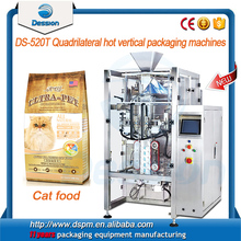 Multifunctional combined Automatic Cat food granule packing machinery