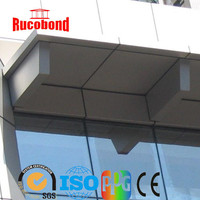 ACP Wall cladding pvdf outdoor sign board, aluminum composite panel, building material