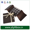 Fancy Wholesale Packaging Custom Logo Promotional Chocolate Gift Paper Box For Sale
