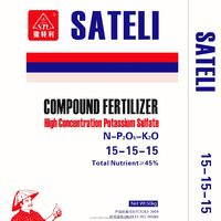 Sateli NPK Compound Fertilizer XF 15-15-15