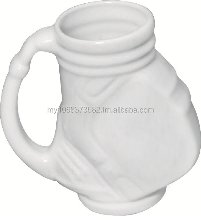 Wholesale Golf Bag Ceramic Mug 450ml - Factory Direct
