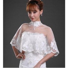 Best Looking Bridal Shrug Wedding Evening Wrap Bolero Jacket Women Fashion Wedding Lace Shawl wedding bolero coat