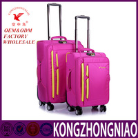 real button trolley kongzhongniao luggage with four wheels