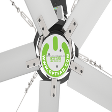 OPT KC Seres 24 ft(7.3m) industrial axial flow fan