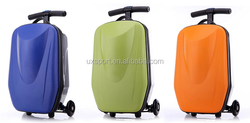 ABS/PC material kids luggage