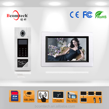 color ccd camera multi apartments video door phone