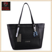 2017 new fashion PU leather lady handbags leather bags women tote bag