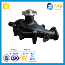 Car Cooling System Water Pump Type 16100-3820 for Hino K13CTS