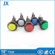 High level 20 amp 12 volt different color lighted push button switch