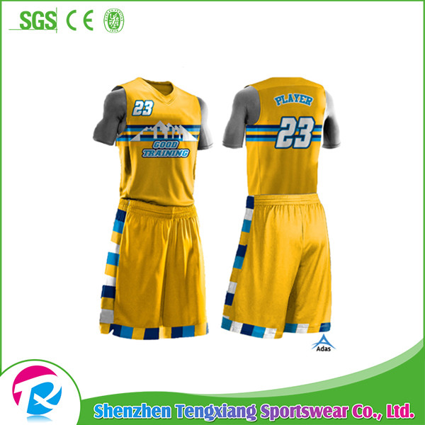 Custom Design Custom Sublimated Digital Camo Basketball Uniforms Wholesale