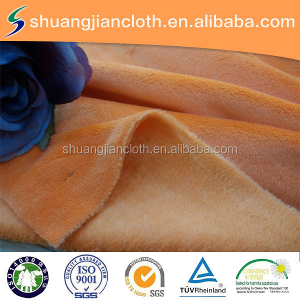 double-sided spandex velvet,soft, good quality, factory directly