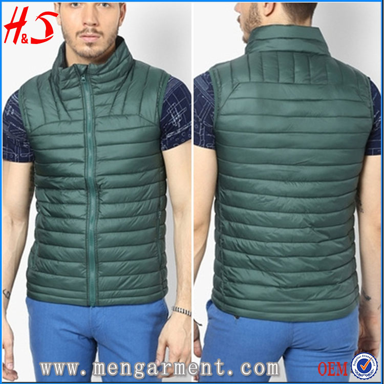 Hot Selling Fashion Style Outdoor Jacket Wear With Sleeveless Winter Jacket Man