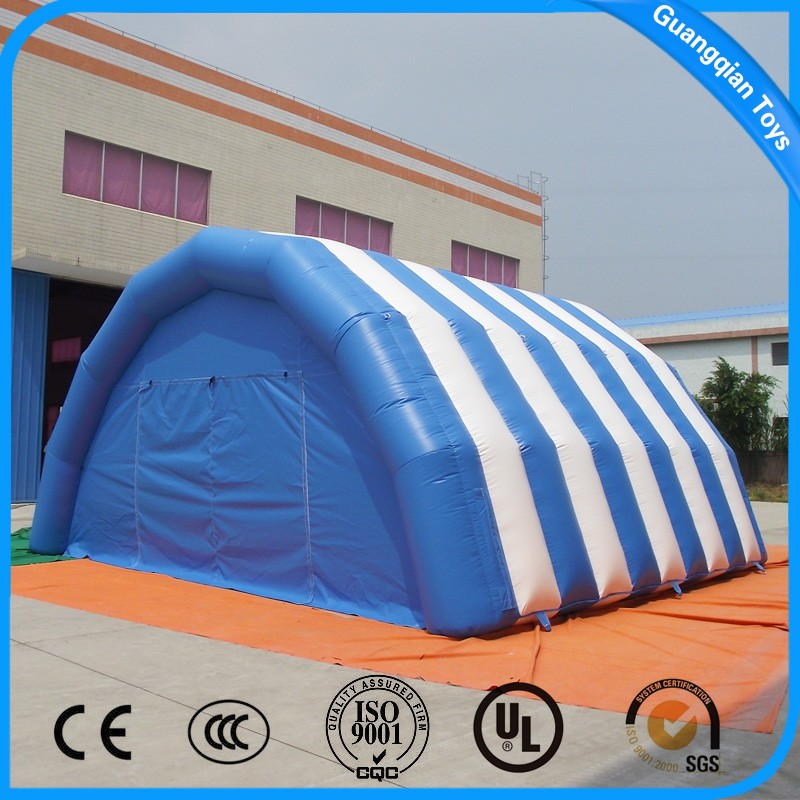 Blue And White Inflatable Dome Camping Tent Price