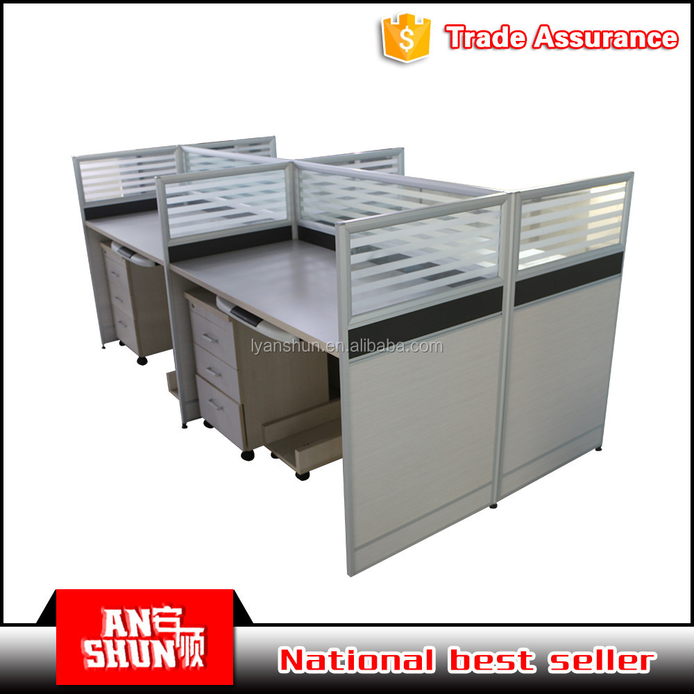 China modern cheap price office partition furniture workstation