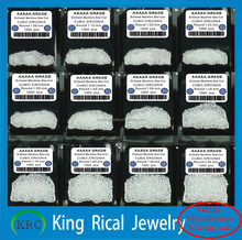 Wholesale white round brilliant cut cubic zirconia CZ stones