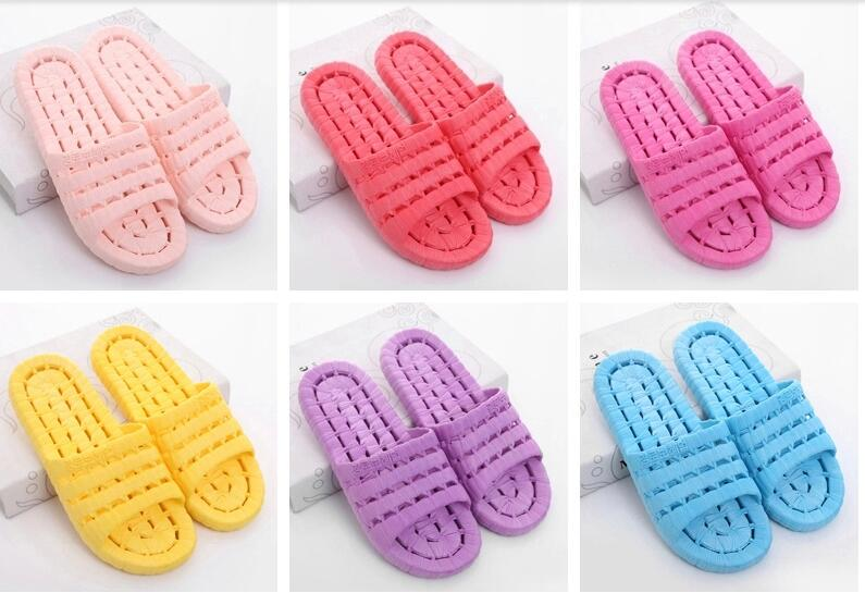 Uniseason Waterproof Candly Color Home Shower Sandals