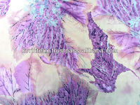 Multi-Color Digital Print Silk Charmeuse Fabric For Night Dress