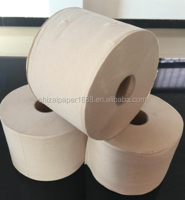 Organic Cheap Unbleached Bamboo Pulp Toilet Paper With 500sheets ...