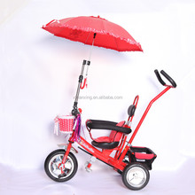 2016 new model hot 3 wheels tricycle / mother push bar steering toddler baby stroller bike