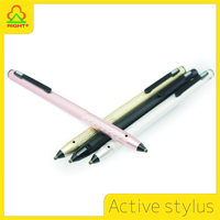 New 2016 product idea active touch screen stylus pens for iPad Pro and smartphone