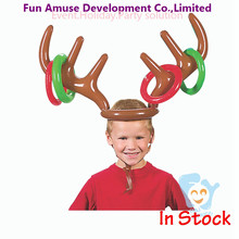 factory Christmas party gift inflatable reindeer antlers