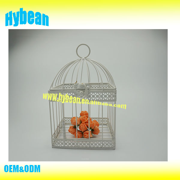 2016 Hot Sale metal bird cage decor