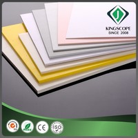 Design decorative best sell transparent abs plastic sheet